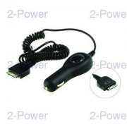 2-Power Billaddare 12v Apple iPhone 4s Mobiltelefon