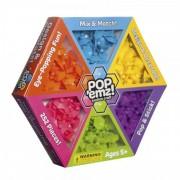 Joc de creatie cu ventuze Pop Emz Fat Brain Toys, 252 piese, 5 ani+