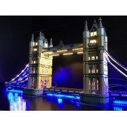 Lighting kit for Tower Bridge set 10214 only 2 usb outlet needed(lego set not included)