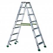 Facal Stufenstehleiter DUPLA S600 5 Stufen