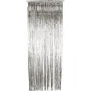 Perdea Cortina Silver Tinsel - argintie