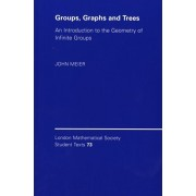 Groups, Graphs and Trees. An Introduction to the Geometry of Infinite Groups, Paperback/John (Lafayette College, Pennsylvania) Meier