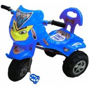 Oh Baby Baby Angry Bird Mask Blue Musical Tricycle For Your Kids Se-Tc-05