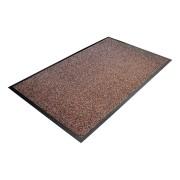 Hnědá textilní čistící vnitřní vstupní rohož - 150 x 90 x 1 cm (80000454) FLOMAT