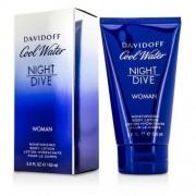 Davidoff cool water night dive woman body lotion 150 ml