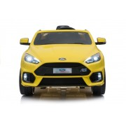 Masinuta electrica cu pornire la cheie Ford Focus RS Yellow