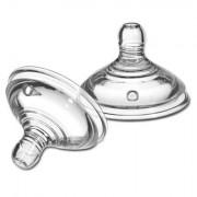Tommee Tippee Náhradné cumlík C2N 2ks, 0+ rýchly prietok
