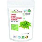 Healthsootra Organic Brahmi / Bacopa Powder 200 Gm USDA / NPOP Certified