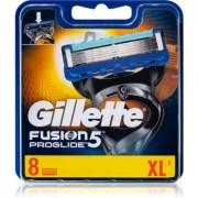 Gillette Fusion5 Proglide recambios de cuchillas 8 ud