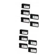 Hp 10 CARTUCCE HP CZ133A CZ130/1/2 COMPATIBILI PER HP Designjet T520 Designjet T120 H711 N° 4 CZ133A + N° 2 CZ130/1/2