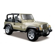 Maisto 1:27 Scale Jeep Wrangler Rubicon Diecast Vehicle (Colors May Vary)