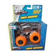 Maisto - Earth Shockers Hummer H3T Orange Shocker Monster Truck