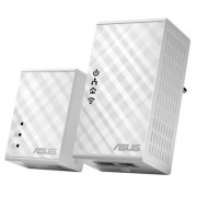 ASUS PL-N12 Wireless Powerline Adapter Kit - 300Mbps - Dual-Band