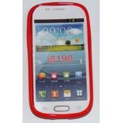 Силиконов гръб ТПУ за Samsung I8190 Galaxy S III mini Червен
