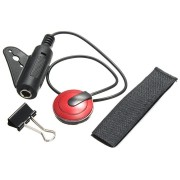 Professional Piezo Contact Microphone Pickup with Wrap Tape and Clip for Acoustic Guitar Violin