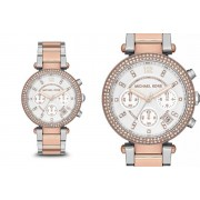 Michael Kors Ladies' Parker Chronograph Rose-Gold MK5820 Watch