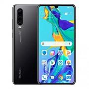 Huawei P30 128 GB + 6 GB RAM (ELE-L29) 6.1 pulgadas LTE Desbloqueado de fábrica gsm Smartphone (versión Internacional), Negro (Renewed)