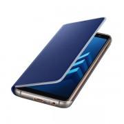 Husa Samsung Neon Flip Cover Blue EF-FA530PLEGWW pt Galaxy A8(2018)