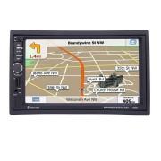 Navigatie auto 2DIN 7'' Touchscreen, Bluetooth, USB, Aux, Gps