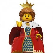 Идентифицирана минифигурка Лего Серия 15 Кралица - Lego series 15 - Quenn, 71011-16