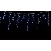 Perdea luminoasa tip turturi 100 LED-uri albe lumina rece cu jocuri de lumini cablu transparent WELL