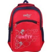 UNITY BAGS Polyester Multi Pocket School Bag |Casual Bag | Shoulder Backpacks for Girls & Boys 35 L Backpack(Red)
