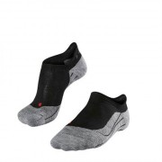 Falke RU4 Invisible Women No Show Socks Black Mix
