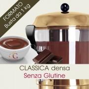 Officine Gastronomiche Cioccolata Per Cioccolatiera Classica Densa Maxi 20 buste da 1 kg