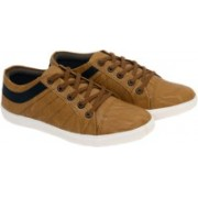 MOU Lacost Canvas-Beige Canvas Shoes For Men(Beige)