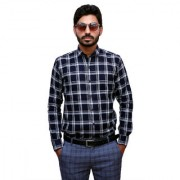 Tooley Men's Cotton Blue / party wear shirts /Full sleeve shirts/ Printed shirts Regular Fit Formal Shirt for