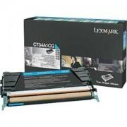 Тонер касета за Lexmark C734/C736,/X734,/X736,/X738 Cyan Toner Cartridge for 6 000 page - C734A1CG