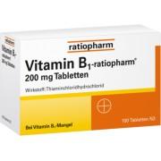 ratiopharm GmbH VITAMIN B1-RATIOPHARM 200 mg Tabletten 100 St
