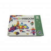 Bloques 3D Mag Wisdom Juego de 36 Piezas
