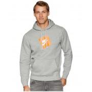 Nike NSW Hybrid Hoodie Pullover Fleece Dark Grey Heather