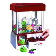 Etna The Claw Toy Grabber Machine with Sounds and Animal Plush - Features Electronic Claw Toy Grabber Machine, Animation, 4 Animal Plush, and Authentic Arcade Sounds for Exciting Play