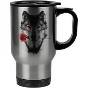 Caneca Térmica A Rosa do Lobo