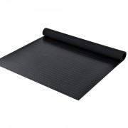 Подложка против хлъзгане с мотиви на шайби 5 x 1m, Черна, 3 mm дебелина