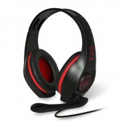 AURICULARES CON MICRÓFONO SPIRIT OF GAMER PRO-H5 - DRIVERS 40MM - CONECTOR 2XJACK 3.5MM - CABLE 2.1M