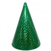 Kicsi kalap, hologramos, zöld 6 db/cs