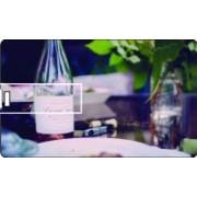 Printland Credit Card Dining Time 8 GB Pen Drive(Multicolor)