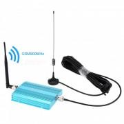 GSM 900MHz Repetidor de la senal del telefono con la antena interior + al aire libre (enchufe de la UE)