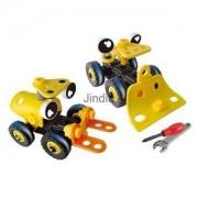 Alcoa Prime Plastic Building Block Assembly Concept Car Blocks Set Kids Educational Gift