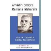 Amintiri despre Ramana Maharshi - Alan W. Chadwick