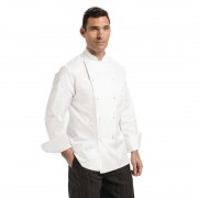 Chef Works Unisex Madrid Chef Jacket White Size 36 Size: 36