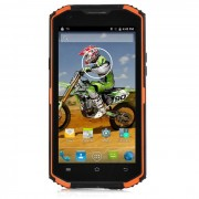 """Vphone X3 MT6735 android 5.1 5.5"""" smartphone resistente - naranja + negro"""