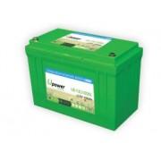 Batería para buggie de golf 12V 100Ah Upower Ecoline UE-12Li100BL