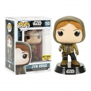 Funko Pop Exclusivo Jyn Erso Hooded - Rogue One Movie Star Wars Hot Topic