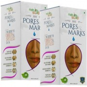 Nature Sure Pores and Marks Oil 2 Packs (100ml each) for enlarged skin pores stretch marks and fine lines