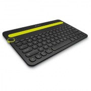 Logitech Bluetooth Multi-Device Keyboard K480 for Computers Tablets and Smartphones Black