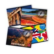 Caiet geografie, 17 x 24cm, 24 file, PIGNA Clasic